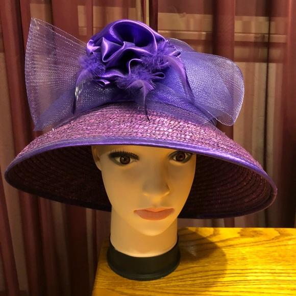 e90f999e2 Purple church hat